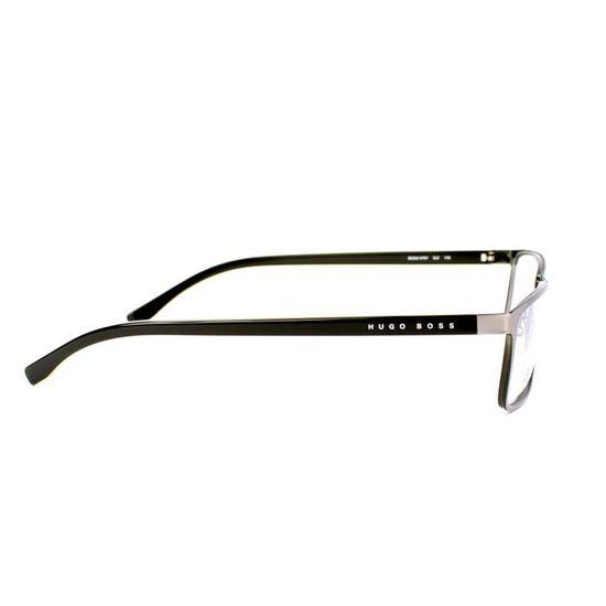 Lunettes de vue Hugo Boss BOSS 0767 -QJI Argent - Vert - Achat   Vente  lunettes de vue Lunettes de vue Hugo Boss ... Homme Adulte - Cdiscoun d2be0338b0b3
