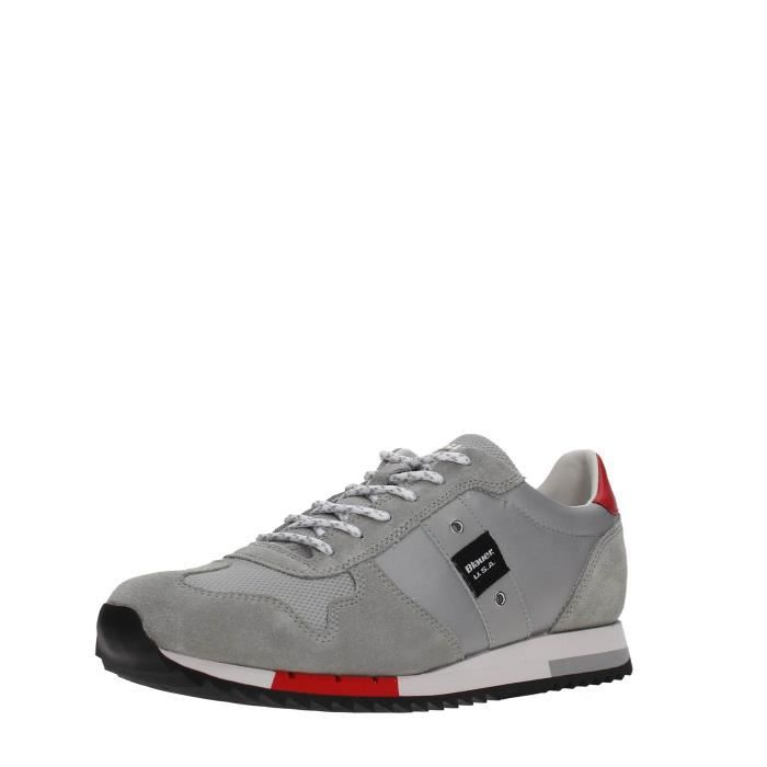 USA GREY Blauer 40 Sneakers Blauer Homme USA Sneakers Homme GREY f4Xxpnqwq