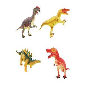 LARGE STEGOSAURUS Plastique Dinosaure Figure Jouet-environ 23 cm