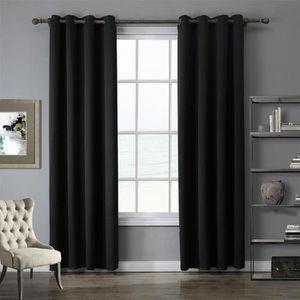 rideau de porte occultant achat vente pas cher. Black Bedroom Furniture Sets. Home Design Ideas