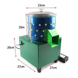 PLUMEUSE Plumeuse Electrique 60W en Acier INOX pour Caille,