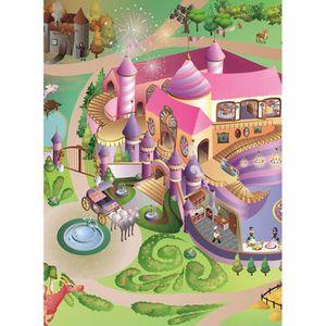 tapis enfant princesse achat vente pas cher. Black Bedroom Furniture Sets. Home Design Ideas