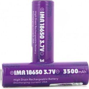 BATTERIE E-CIGARETTE Cigarette électronique Accu 20A 18650 3500mAh IMR