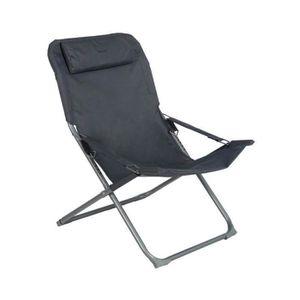Chaise exterieur pliante hesperide achat vente chaise for Fauteuil exterieur gris