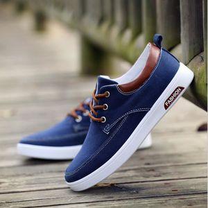 Hommes Chaussures à semelles souples des chaussures de conduite pour Homme Marque De Luxe Respirant Sneaker Plus Taille 39-44 Bleu Bleu - Achat / Vente basket  - Soldes* dès le 27 juin ! Cdiscount