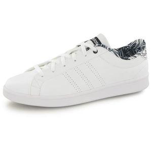 BASKET ADIDAS Baskets Advantage Clean QT - Femme - Blanc