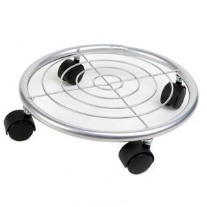 support de pot a roulettes achat vente pas cher. Black Bedroom Furniture Sets. Home Design Ideas
