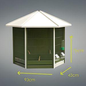 voliere hexagonale achat vente voliere hexagonale pas. Black Bedroom Furniture Sets. Home Design Ideas