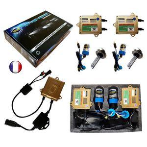 AMPOULE TABLEAU BORD Kit HID Xénon Marque FRANCAISE Vega® H7 8000K 55W