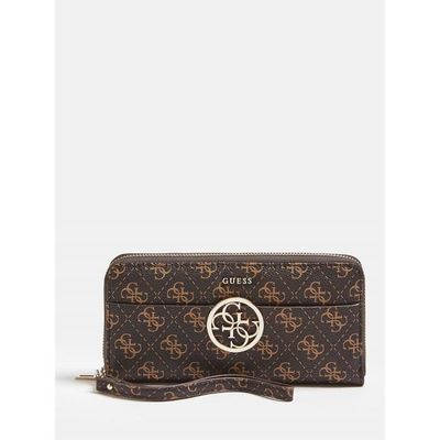 Guess Portefeuille Guess Swqe66 91460 Bro Marron Taille Uni