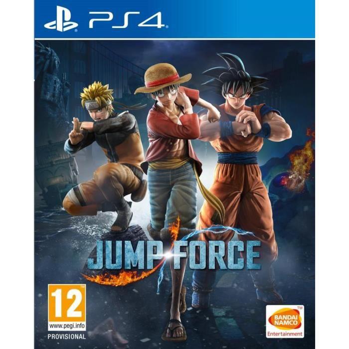Jump Force Jeu PS4