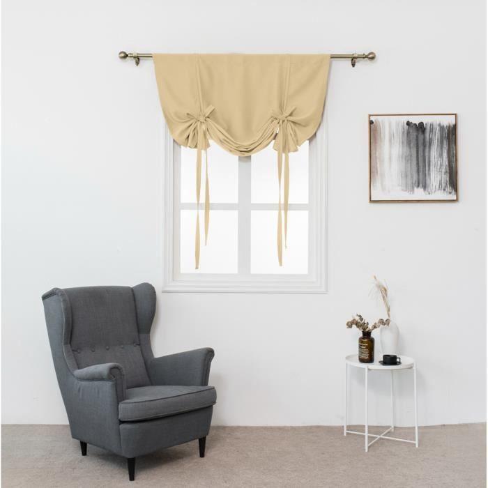 Isolation thermique rideau d\'occultation pour petite fenêtre Valance ...