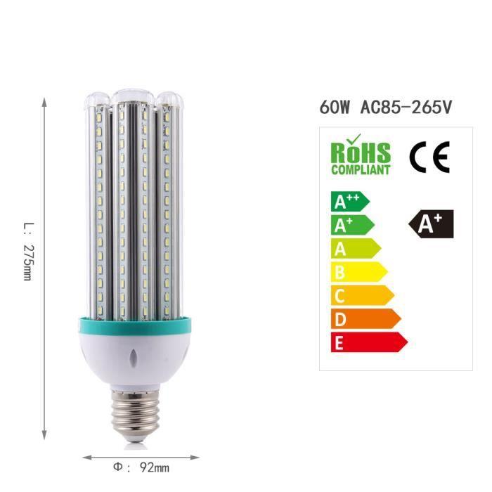 D'énergie E40 Lumière À Blanc Led Économie 60w Ampoule L5R43Ajq
