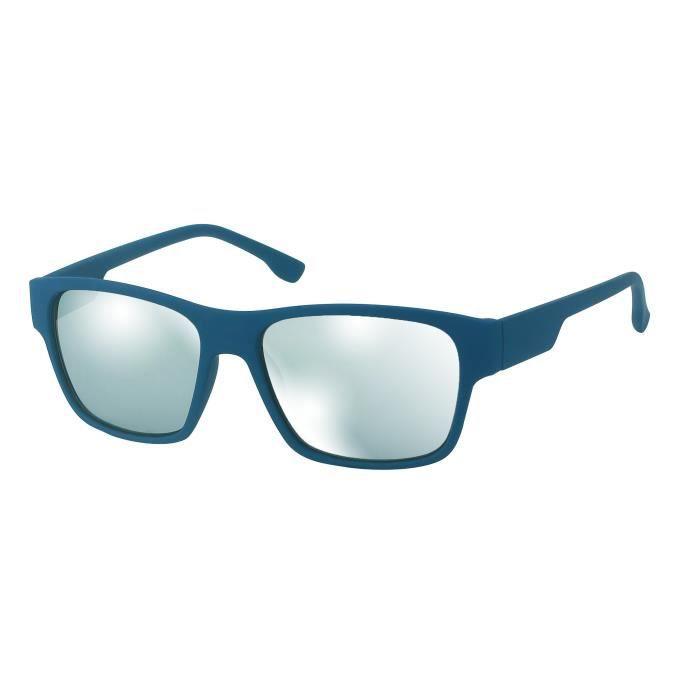Lunettes sport verres miroirs-KOST 5108 bleu mat / miroirs argent
