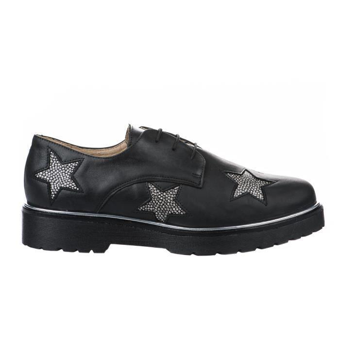 Chaussures à lacet femme - HDC - Noir - 17001908 - Millim