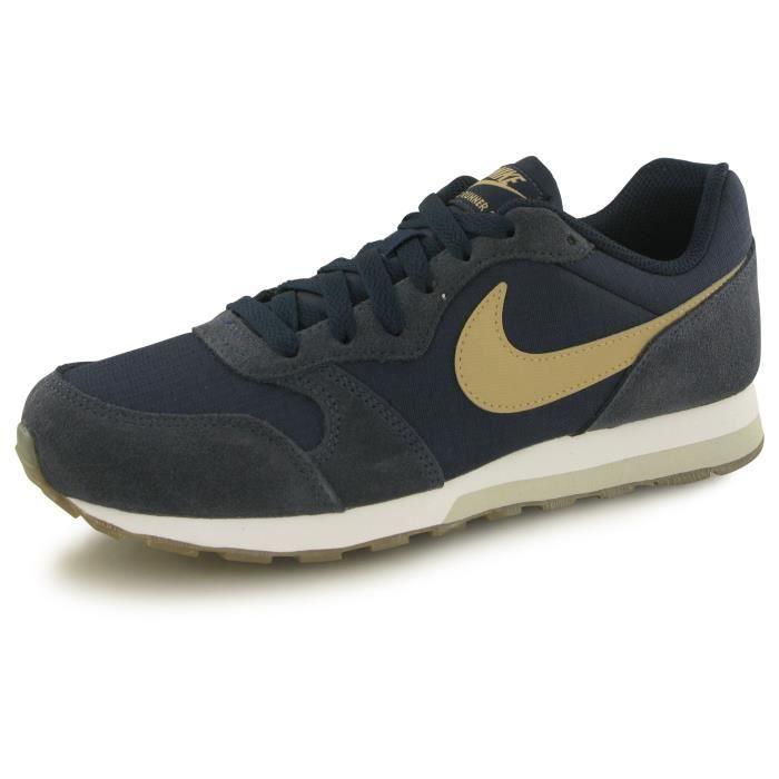 sports shoes a8dea de8f3 nike md runner 2 bleu baskets mode
