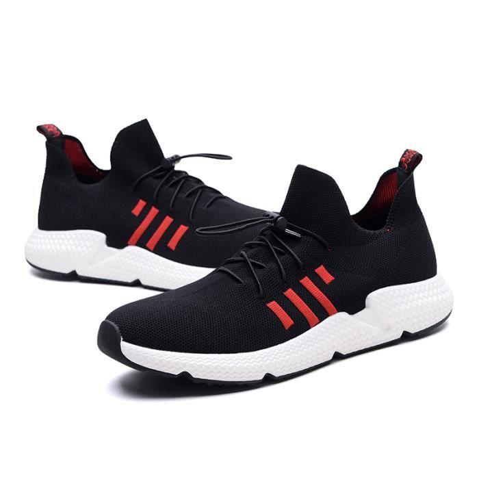 Chaussures Noir Basket Homme Respirant 39 Maille Mode De Sport Chaussure Toile hrstdQ