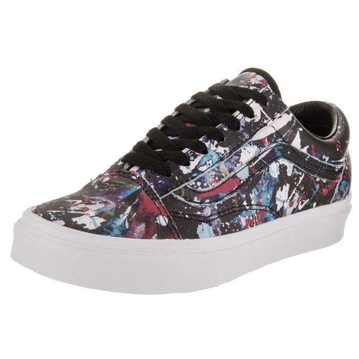 the best attitude 14ea1 d22b6 Vans vieille chaussure de skate pour femme (éclaboussures de peinture)  HMC4S Taille-38 1-2