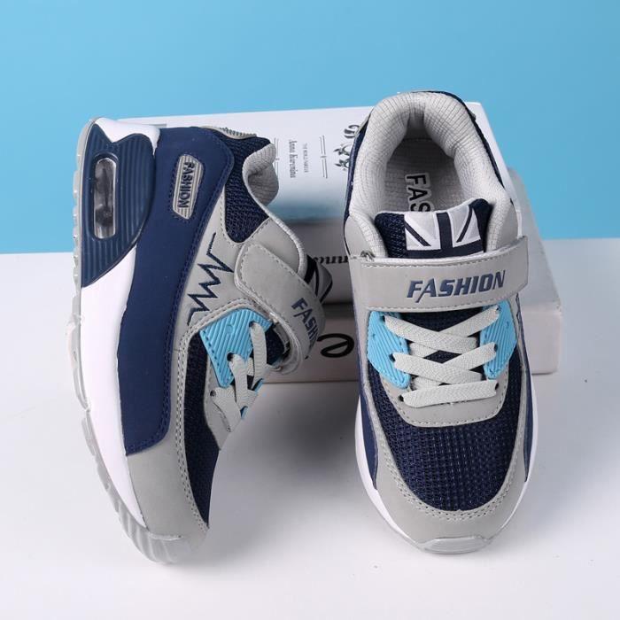 de unisexe Chaussures d'air sport de pour Chaussures coussin Basket enfants décontracté qR8aaH