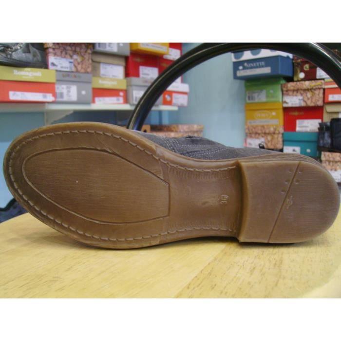 Chaussures enfants. Boots filles grises SHWIK par POM D'API 6RbhrkYP7