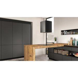 hotte ilot noir achat vente hotte ilot noir pas cher cdiscount. Black Bedroom Furniture Sets. Home Design Ideas