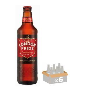 BIÈRE FULLERS LONDON PRIDE Bière ambrée 50 cl x6