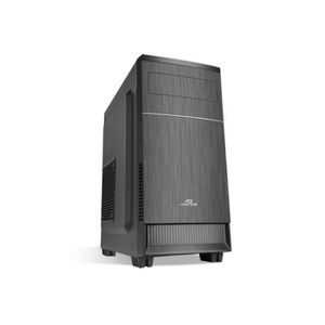 Advance Boîtier PC Impulse 480 - Moyen Tour - Avec alimentation 480W - Noir