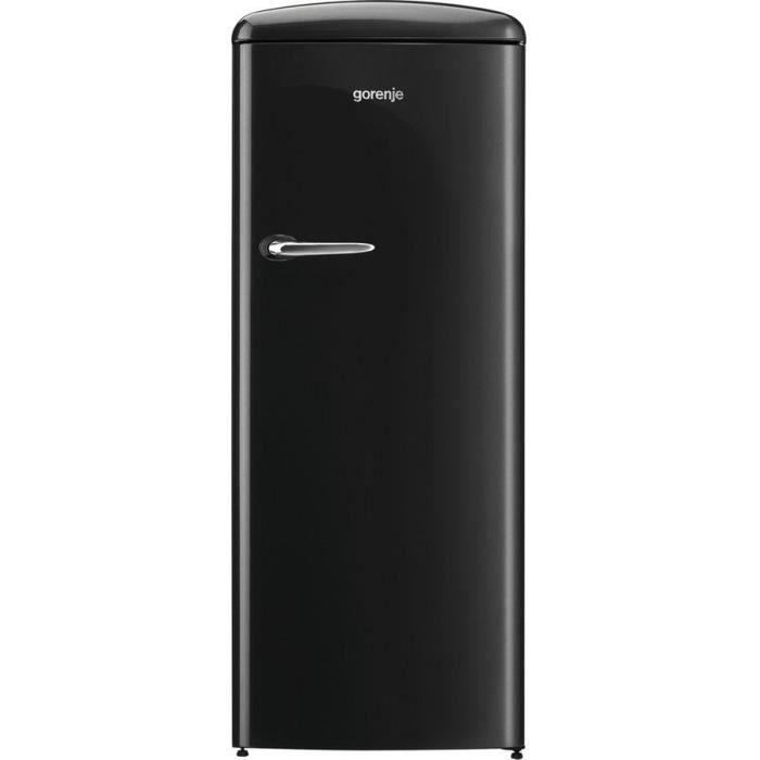 GORENJE ORB-153BK - Réfrigérateur armoire freezer haut - 254 L (235L + 25L) - Froid brassé - A+++ -