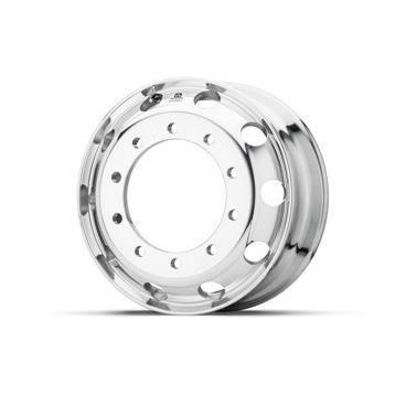 Roue ALCOA en aluminium forgé pour Poids Lourd - 22.5x8.25 - Perçage 32 mm - Finition Dura-Bright