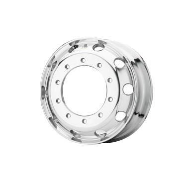 Roue ALCOA en aluminium forgé pour Poids Lourd - 22.5x8.25 - Perçage 26 mm - Finition Dura-Bright