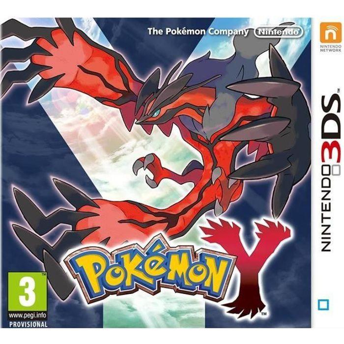 Pokémon Y Jeu 3DS