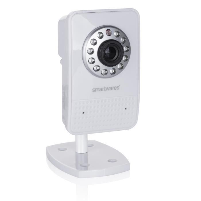 SMARTWARES Caméra de surveillance connectée IP intérieur HD WiFi C723IP