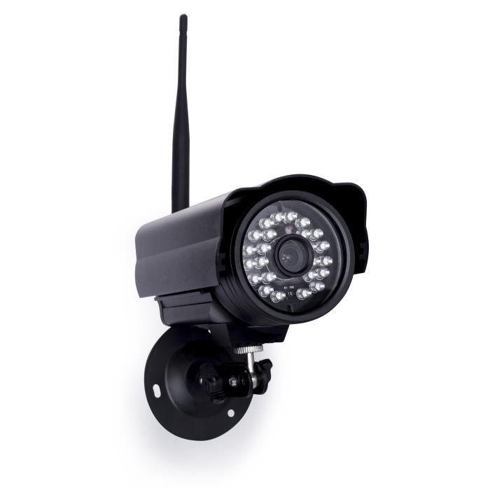 SMARTWARES Caméra de surveillance HD IP intérieur/extérieur C923IP