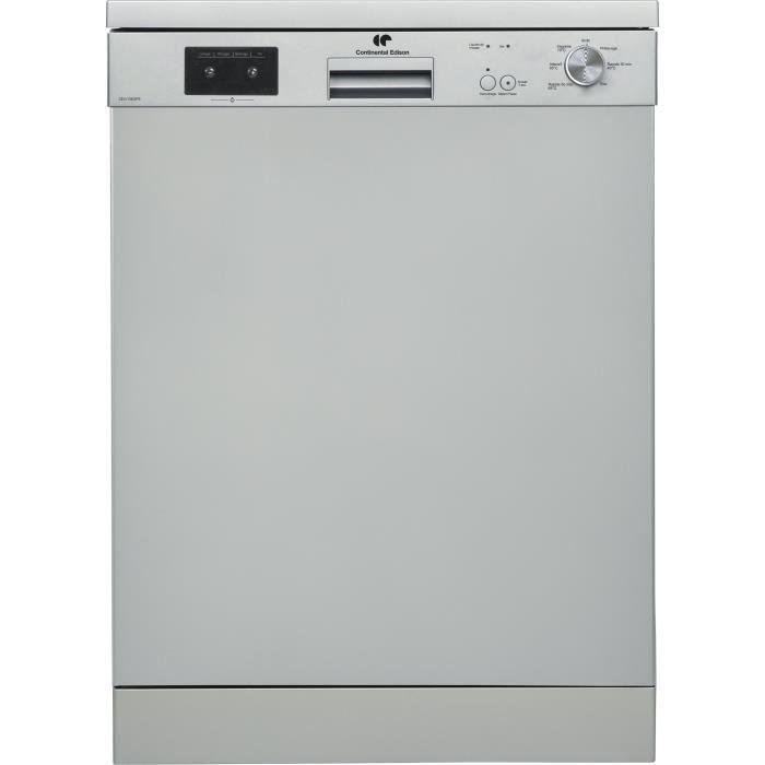 CONTINENTAL EDISON Lave-vaisselle - 13 couverts - A++ -  45 dB - 3 paniers - départ différé - L59,8