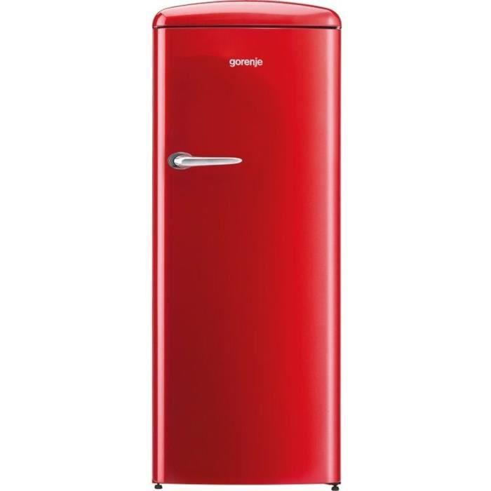 GORENJE ORB-153RD - Réfrigérateur armoire freezer haut - 254 L (235L + 25L) - Froid brassé - A+++ -