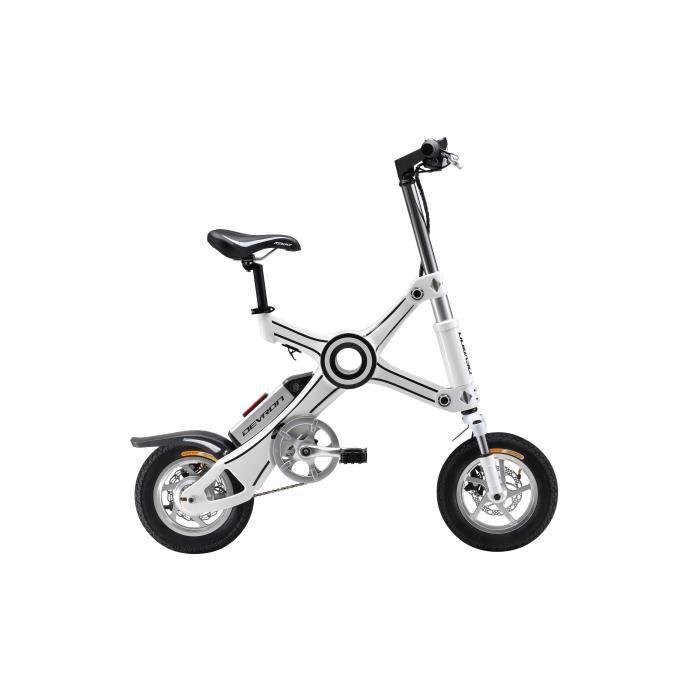 DEVRON Vélo à assistance Electrique pliant X3 310wh Blanc