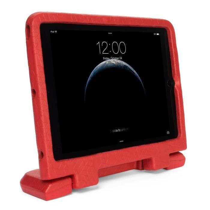 Kensington coque renforcée pour enfant SafeGrip? rouge pour iPad Air 2 (K97363WW)