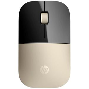 SOURIS HP Souris Wireless Z3700 X7Q43AA - Doré