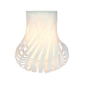 LAMPE A POSER Lampe PVC E14 40W blanc