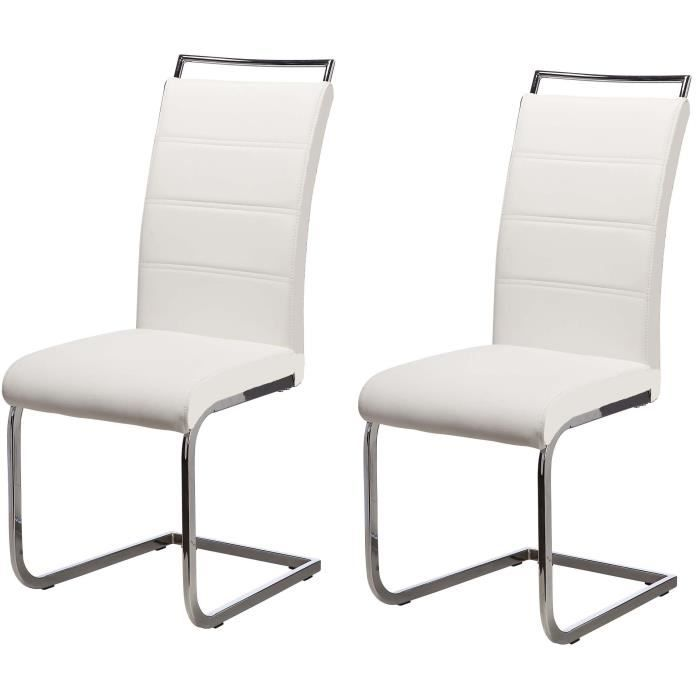 Chaises achat vente chaises pas cher cdiscount for Salle a manger jerry