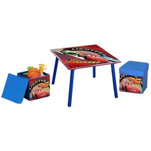 table enfant avec rangement achat vente jeux et jouets pas chers. Black Bedroom Furniture Sets. Home Design Ideas