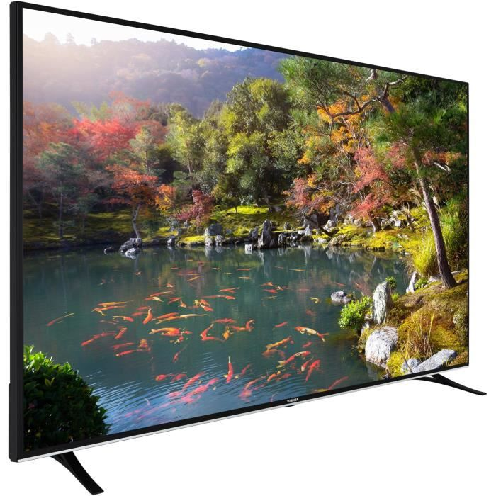 toshiba 75u6763dg tv led 4k uhd 190 cm 75 smart. Black Bedroom Furniture Sets. Home Design Ideas