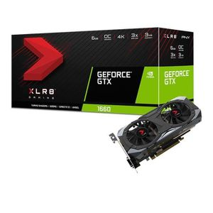 CARTE GRAPHIQUE INTERNE PNY Carte graphique GeForce GTX 1660 6 Go XLR8 Gam