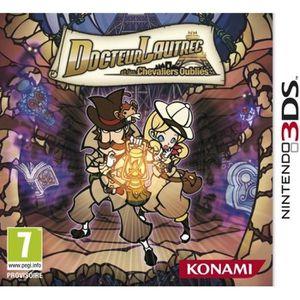 JEU 3DS Konami Docteur Lautrec et les chevaliers oubliés -