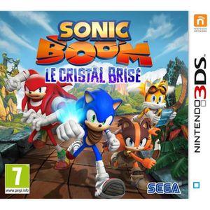 JEU 3DS Sonic Boom : Le Cristal Brisé Jeu 3DS