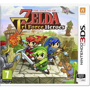 JEU NEW 3DS - 3DS XL Zelda : Tri Forces Heroes - Jeu Nintendo 3DS