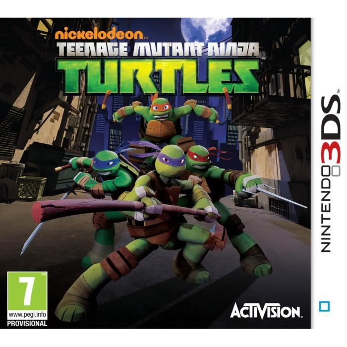JEU 3DS Teenage Mutant Ninja Turtles Kids 2DS-3DS