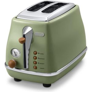 GRILLE-PAIN - TOASTER Grille pain Icona Vintage - Delonghi CTOV 2103.GR