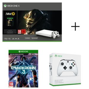 CONSOLE XBOX ONE Console Xbox One X 1 To Fallout 76 Ed. limitée Rob