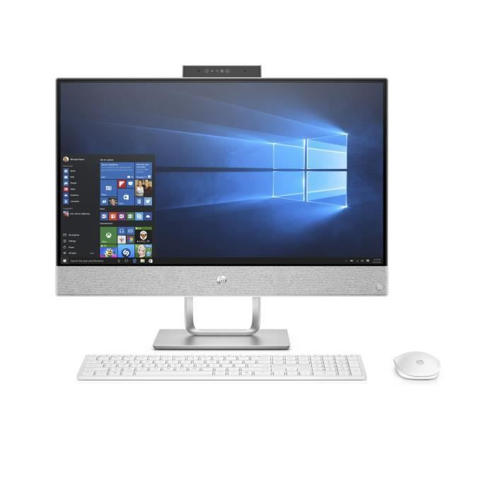 c99789e68e2f8 Ordinateur Tout-en-un - HP Pavilion 24-x053nf - 24 pouces - Core i5-7400T -  8Go de RAM - Disque Dur 1To HDD + 128Go SSD - Windows 10